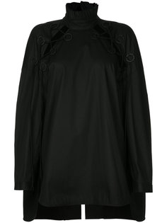 топ Rail Road Laced Oversized Ellery