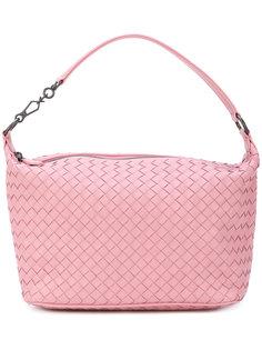 сумка-тоут с эффектом плетения Bottega Veneta