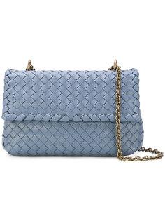 сумка с эффектом плетения Bottega Veneta