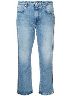 джинсы с полосками с логотипом MSGM