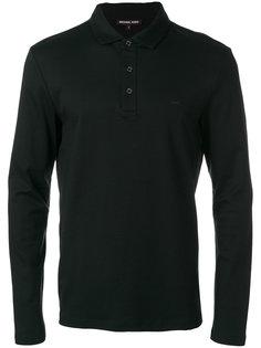 рубашка-поло с длинными рукавами Michael Michael Kors