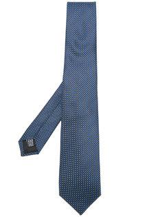 галстук с мелким узором Cerruti 1881