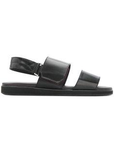 сандалии с ремешками Cerruti 1881