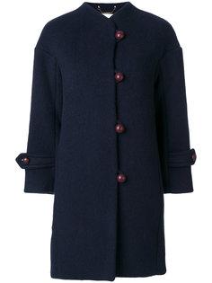 пальто на пуговицах с высоким воротом  Chloé