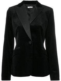 приталенный бархатный пиджак  P.A.R.O.S.H.