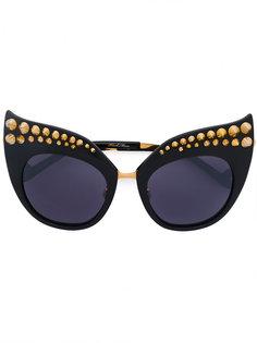 солнцезащитные очки Karlsson с заостренными заклепками Anna Karin Karlsson