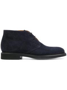 ботинки на шнуровке Doucals