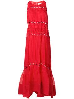 расклешенное платье с вышивкой  3.1 Phillip Lim