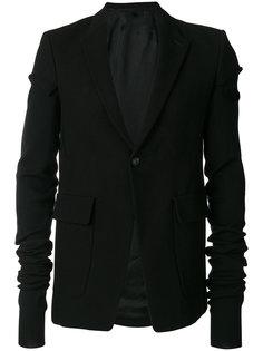 пиджак с удлиненными рукавами Rick Owens