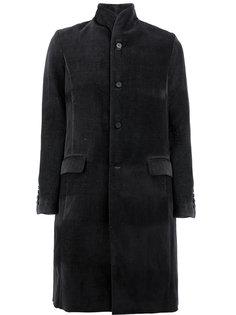 пальто на пуговицах с карманами с клапанами Masnada