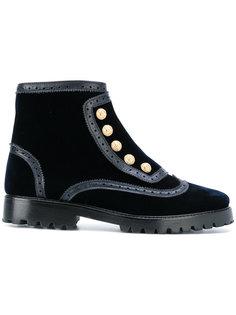 ботинки с заклепками Rue St