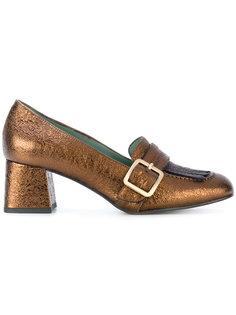 туфли с пряжками Paola Darcano
