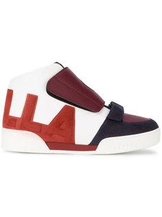 кроссовки на липучках Stella McCartney