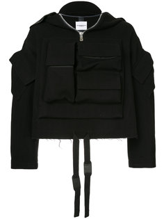 легкая куртка с карманами Takahiromiyashita The Soloist