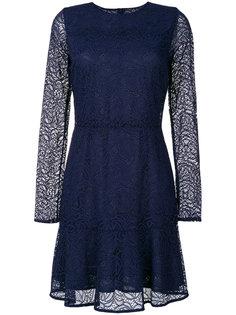 кружевное платье длиной до колена Michael Michael Kors