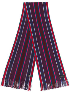 полосатый трикотажный шарф Ps By Paul Smith