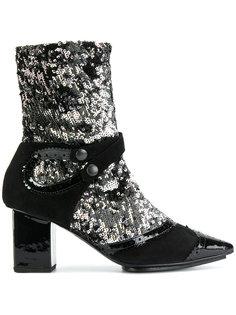 ботинки с пайетками Rue St