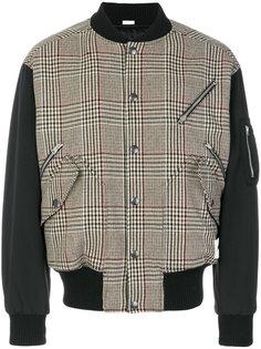 куртка-бомбер в шотландку Stella McCartney