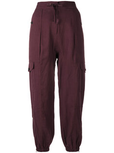 легкие штаны на завязках Ulla Johnson