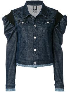 джинсовая куртка с рукавами пуф Aviù