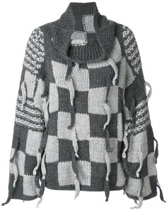 пуловер в клетку Loewe