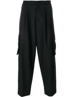 брюки с карманами карго Juun.J