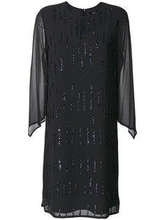 платье с отделкой пайетками  Steffen Schraut