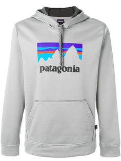 худи с принтом с логотипом Patagonia