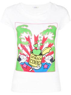 футболка Olivia Spinach Iceberg