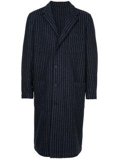 двухстороннее полосатое пальто  Forme Dexpression