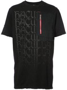 футболка с карманом на молнии Haculla