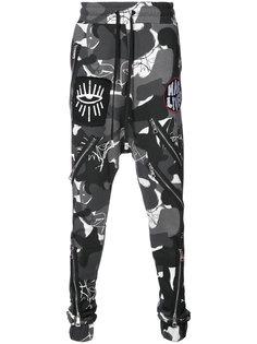 спортивные брюки с заниженной проймой Haculla