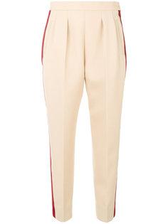зауженные брюки с полосками  Maison Margiela