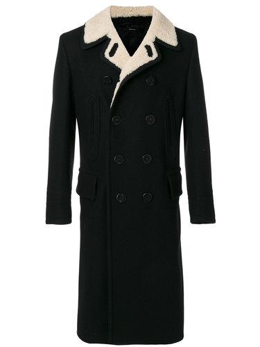 двубортное пальто Tom Ford