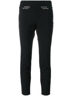 облегающие брюки с декоративной шнуровкой Alexander McQueen