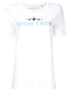 футболка с круглым вырезом Cabin Manokhi