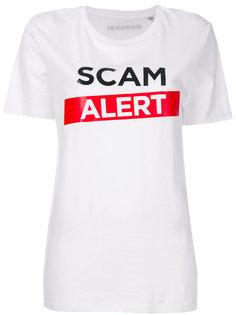 футболка Scam Alert Manokhi
