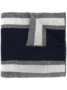 полосатый шарф Hackett