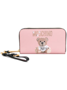 кошелек с плюшевым медведем Moschino