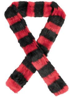 удлиненный шарф из искусственного меха McQ Alexander McQueen