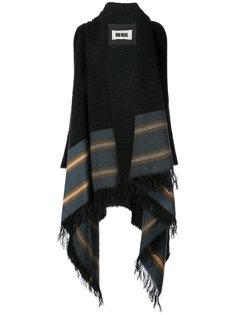 blanket poncho Uma Wang