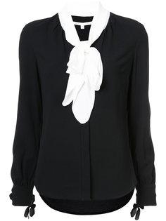 блузка с завязками Presley  Veronica Beard