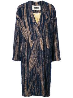 пальто мешковатого кроя  Uma Wang