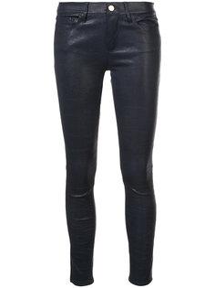 джинсы скинни с вощеной отделкой  Frame Denim