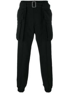 брюки карго с поясом Juun.J