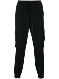 спортивные брюки с накладными карманами Juun.J