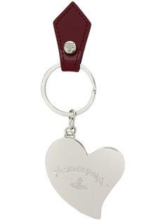 брелок в форме сердца с логотипом Vivienne Westwood