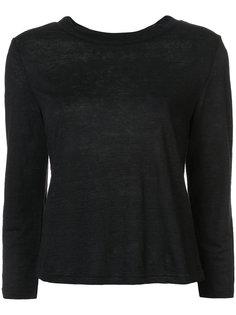 рубашка с круглым вырезом Frame Denim