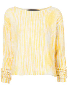 Rolo cropped crochet sweater The Elder Statesman
