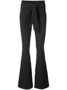 расклешенные классические брюки Helmut Lang